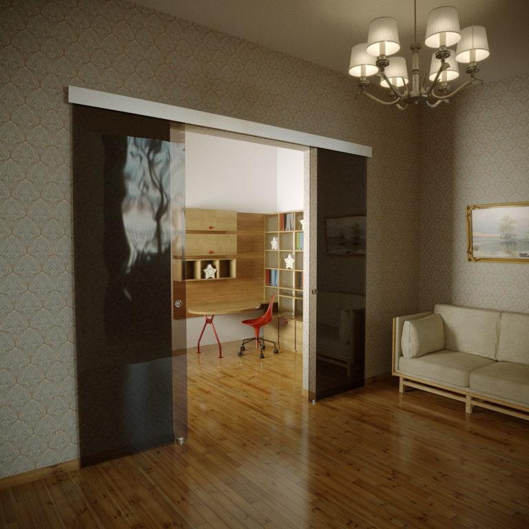Раздвижные двери glassbox