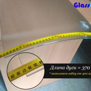 Стекло радиусное «скрин» 5мм