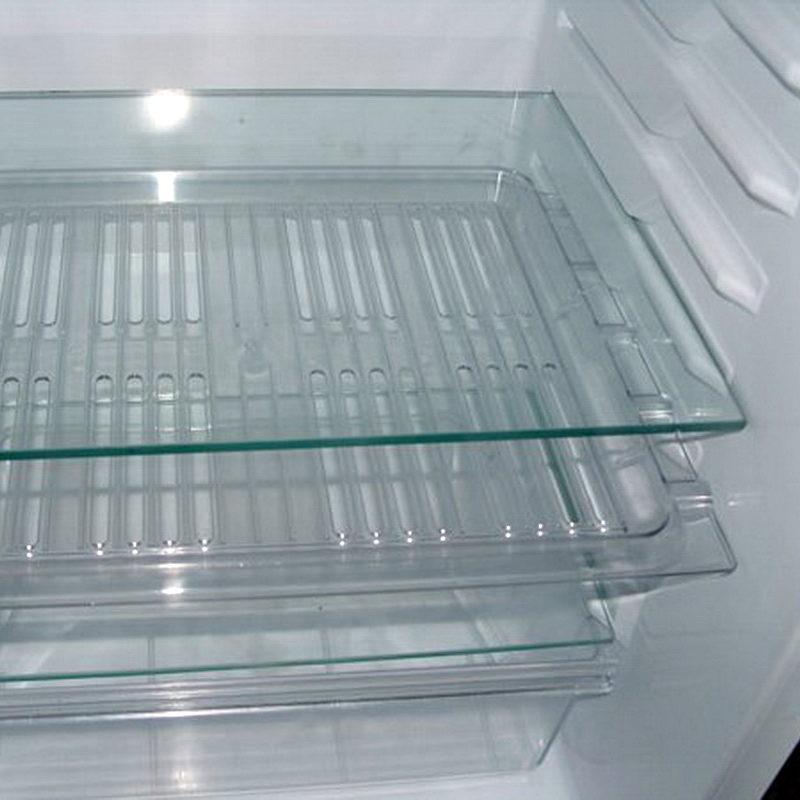 Полка в холодильник из стекла