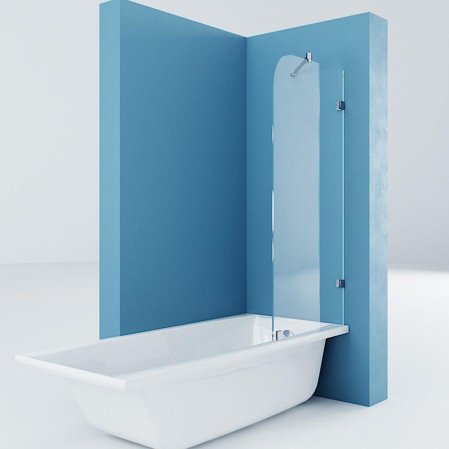 Перегородка экран на ванну