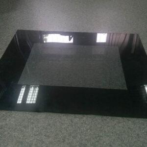 Стекло для духовки 4мм с черной рамкой
