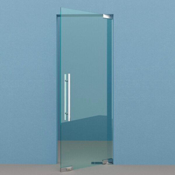 Маятниковая дверь на доводчике