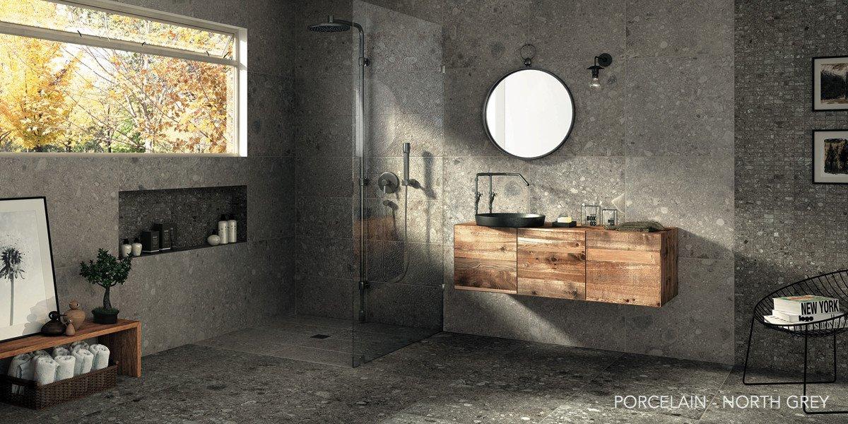перегородка в душ