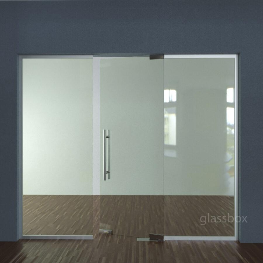 Маятниковые двери и офисные перегородки
