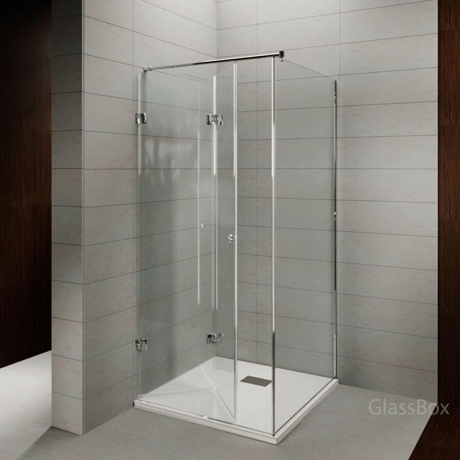 Дверь гармошка в душ