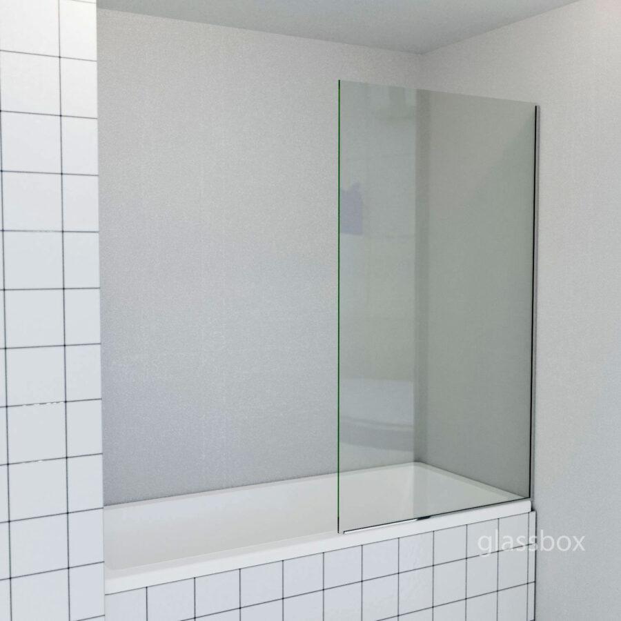 перегородка на ванну стеклянная шторка