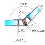 208 уплотнитель магнитный